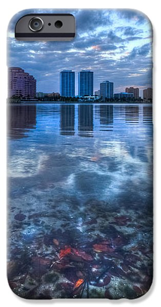 Watery Treasure iPhone Case by Debra and Dave Vanderlaan