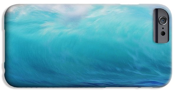 Turbulent Skies iPhone Cases - Wave And Windspray iPhone Case by Vince Cavataio - Printscapes