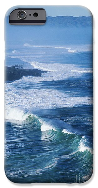 Turbulent Skies iPhone Cases - Waves At Waimea Bay iPhone Case by Ali ONeal - Printscapes