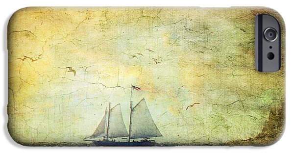 Sailing iPhone Cases - We Shall Not Cease iPhone Case by Lianne Schneider