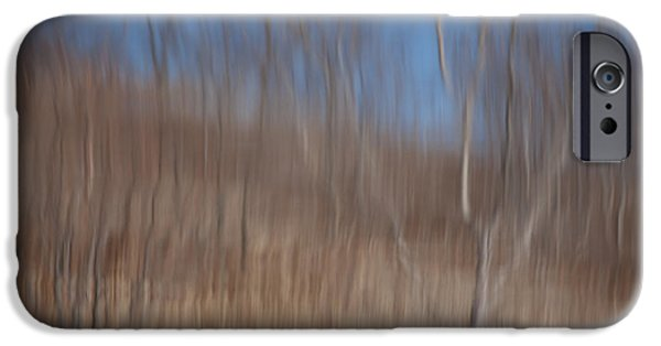 Trees Reflecting In Water iPhone Cases - Weary Reflections iPhone Case by Karol  Livote