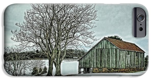 Winter Weather iPhone Cases - Weathered iPhone Case by Heather Applegate