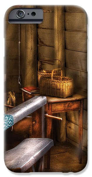Weaver - The Weavers Room iPhone Case by Mike Savad