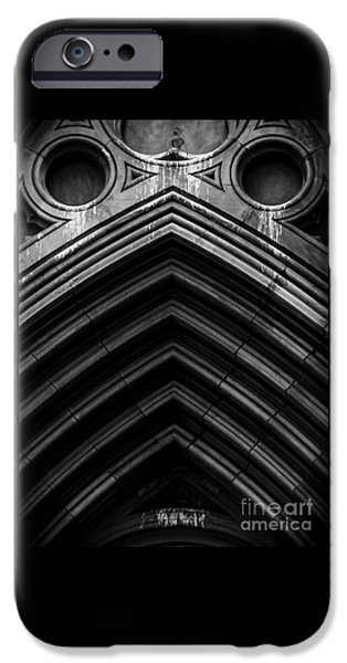 Abstractions iPhone Cases - Weeping Maw iPhone Case by James Aiken