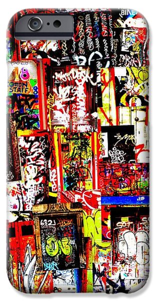 Welcome to Barcelona Graffiti Nirvana iPhone Case by Funkpix Photo Hunter