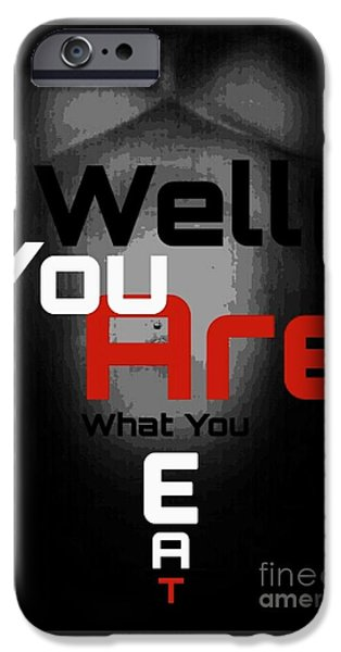 Cities Tapestries - Textiles iPhone Cases - Well You Are.... iPhone Case by HI Level