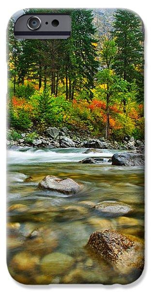 Wenatchee River iPhone Case by Dan Mihai