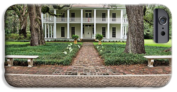 Florida House Photographs iPhone Cases - Wesley House Front iPhone Case by Sandy Keeton