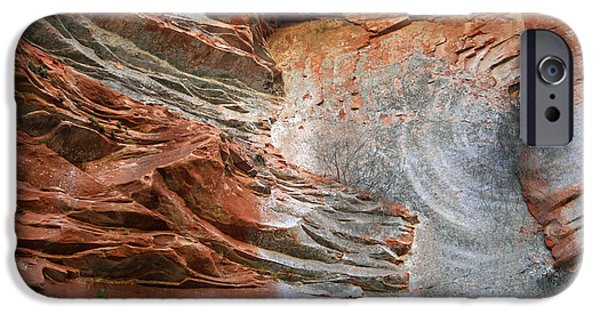 West Fork Photographs iPhone Cases - West Fork Trail Rocks 3 iPhone Case by Ellen Henneke