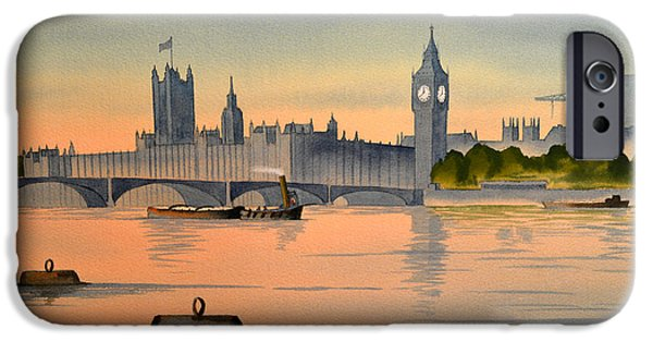 Politician iPhone Cases - Westminster And Big Ben  iPhone Case by Bill Holkham