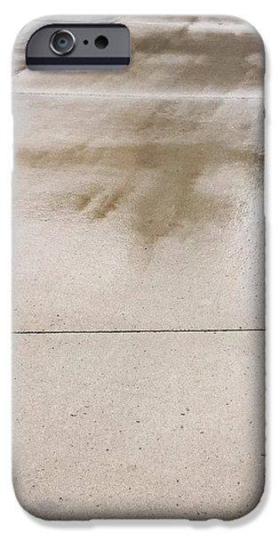 Lincoln iPhone Cases - Wet Pavement iPhone Case by Tamara Lee Madden