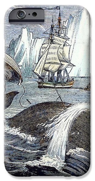 WHALING, 1833 iPhone Case by Granger