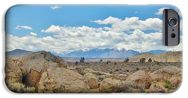 Snow iPhone Cases - What A Scene iPhone Case by Marilyn Diaz