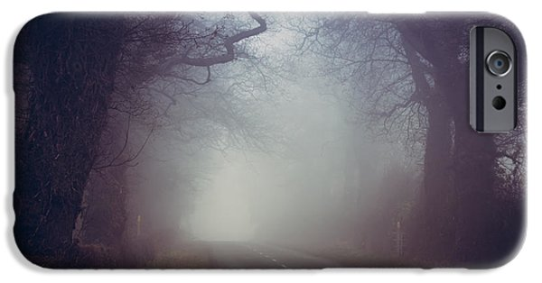 Mist iPhone Cases - Whats beyond? iPhone Case by Chris Fletcher