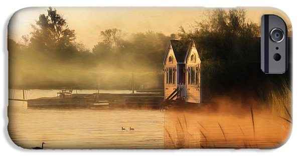 Morning iPhone Cases - When Morning Calls iPhone Case by Lori Deiter
