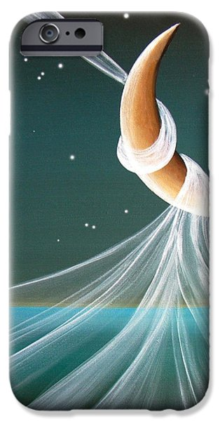 When The Wind Blows iPhone Case by Cindy Thornton
