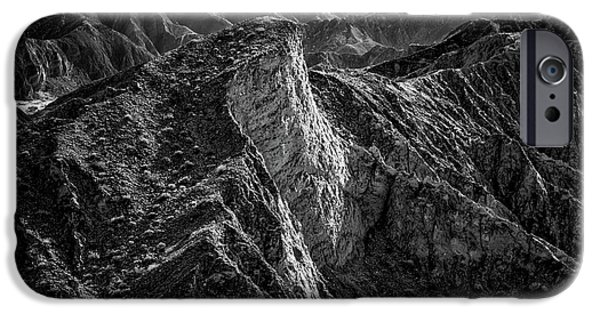 Cliff iPhone Cases - Where Difficulty Begins iPhone Case by Joseph Smith