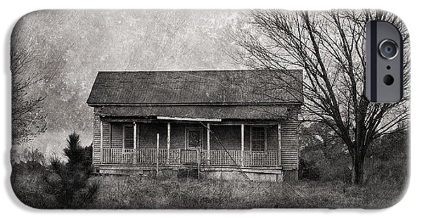 Old Barn iPhone Cases - Where Nobody Lives iPhone Case by Kim Hojnacki