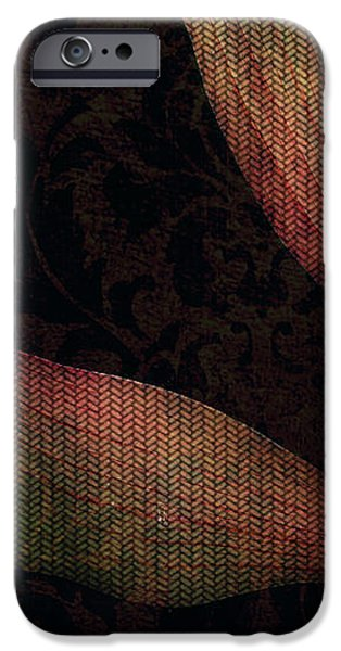 While the Flowers Slept iPhone Case by Bonnie Bruno
