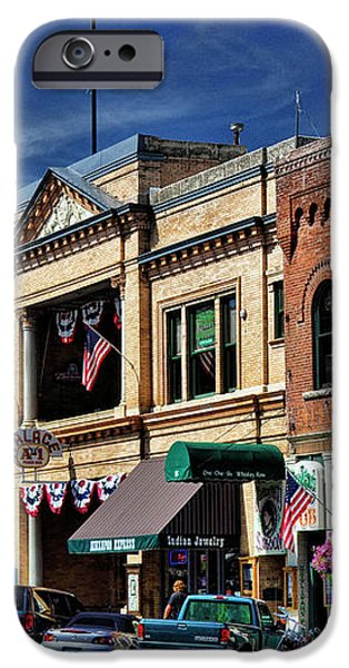 Whiskey Row - Prescott  iPhone Case by Saija  Lehtonen