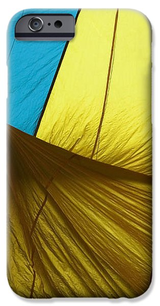 Who landed this balloon on me iPhone Case by Mike  Dawson