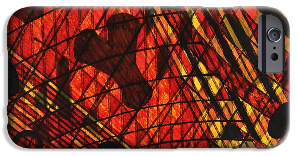 Conceptual Tapestries - Textiles iPhone Cases - Why Knot iPhone Case by TB Schenck