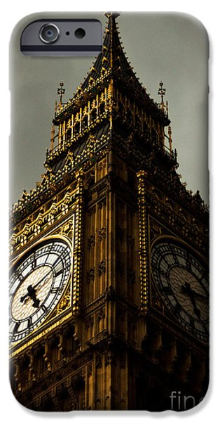 Big Ben iPhone Cases - Wicked Division iPhone Case by Andrew Paranavitana