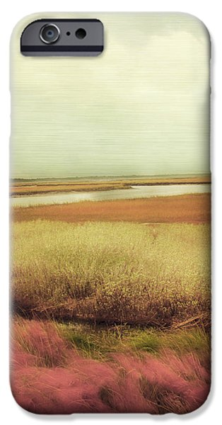 Grey Photographs iPhone Cases - Wide Open Spaces iPhone Case by Amy Tyler
