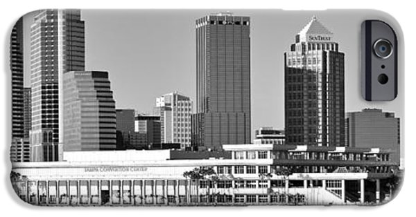 Buildings iPhone Cases - Wide Spread Tampa Bay iPhone Case by Frozen in Time Fine Art Photography