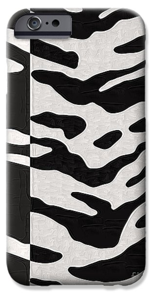 Wild Animals iPhone Cases - Wild Animal Print iPhone Case by Mindy Sommers