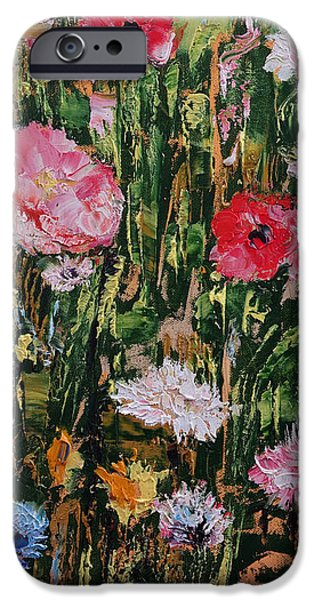 Michael iPhone Cases - Wildflowers iPhone Case by Michael Creese