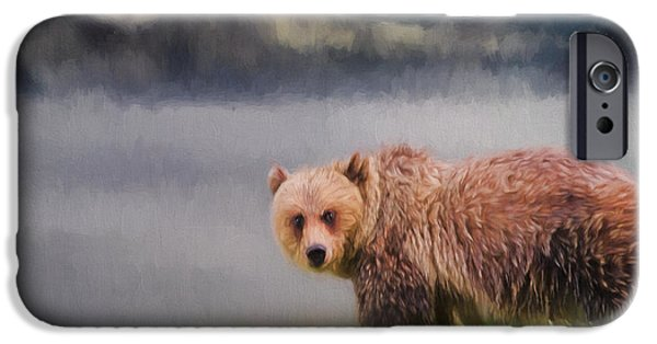 Jordan iPhone Cases - Wildlife Art - The Call Of The Wild iPhone Case by Jordan Blackstone