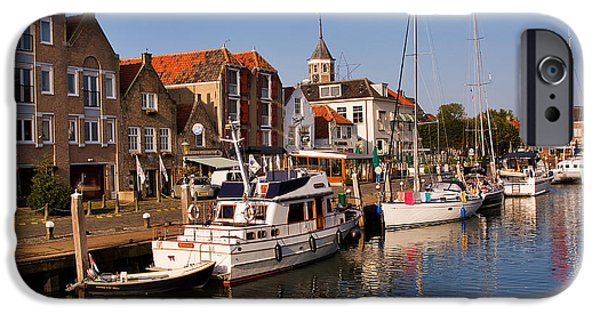 Port Town iPhone Cases - Willemstad iPhone Case by Louise Heusinkveld