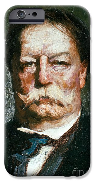 Taft iPhone Cases - William Howard Taft iPhone Case by Photo Researchers