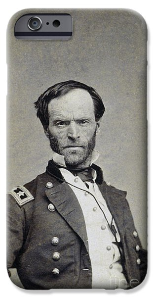 WILLIAM TECUMSEH SHERMAN iPhone Case by Granger