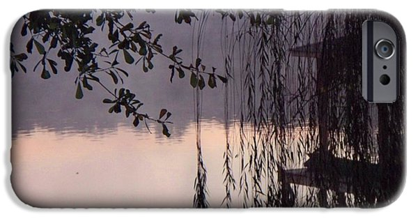 Recently Sold -  - Willow Lake iPhone Cases - Willows Dawn iPhone Case by Betty Northcutt