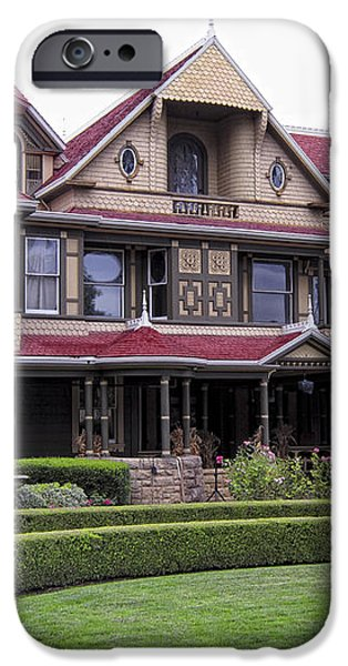 WINCHESTER MYSTERY HOUSE iPhone Case by Daniel Hagerman