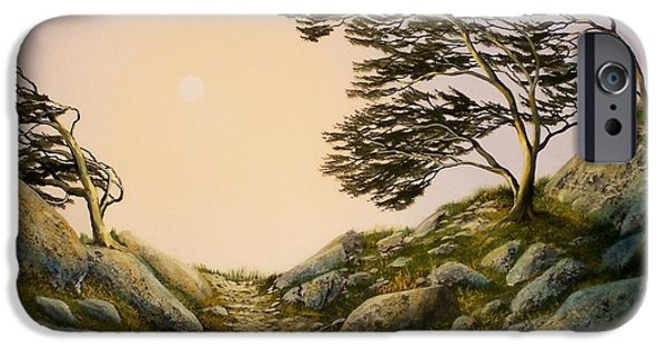Windblown Paintings iPhone Cases - Windblown Warriors iPhone Case by Frank Wilson