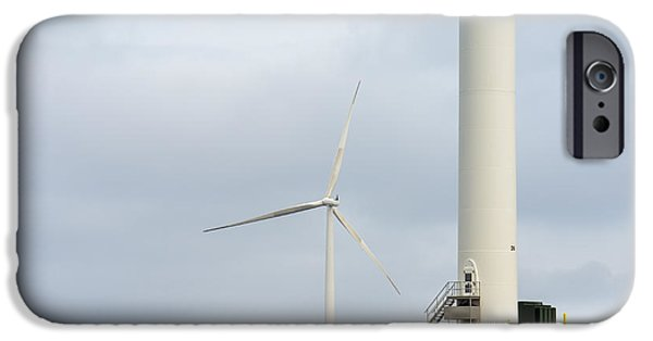 Industry iPhone Cases - Windmills Great and Small iPhone Case by Gavin Baker