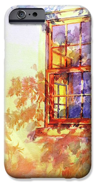 Illumination iPhone Cases - Window Out Back iPhone Case by Virgil Carter