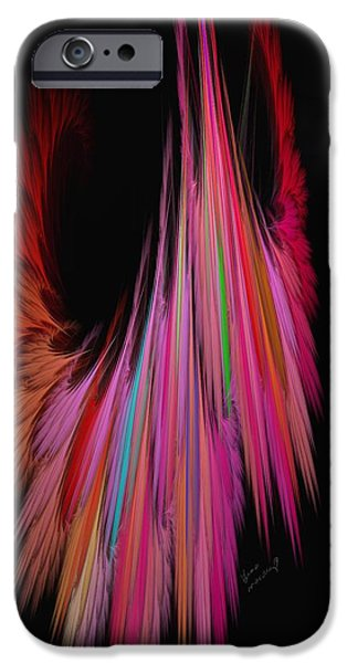 Gina Lee Manley iPhone Cases - Windswept iPhone Case by Gina Lee Manley