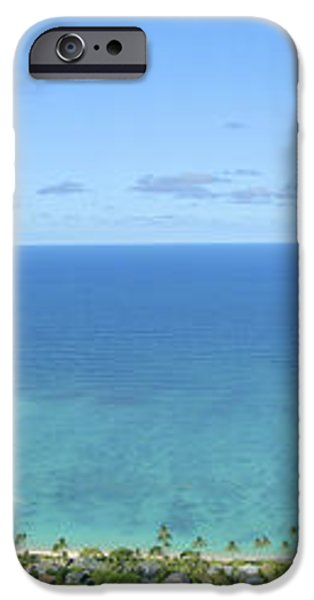 Windward Oahu Panorama II iPhone Case by David Cornwell/First Light Pictures, Inc - Printscapes