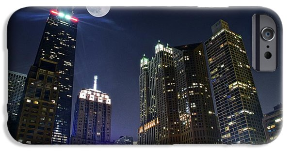 Best Sellers -  - Lincoln iPhone Cases - Windy City iPhone Case by Frozen in Time Fine Art Photography
