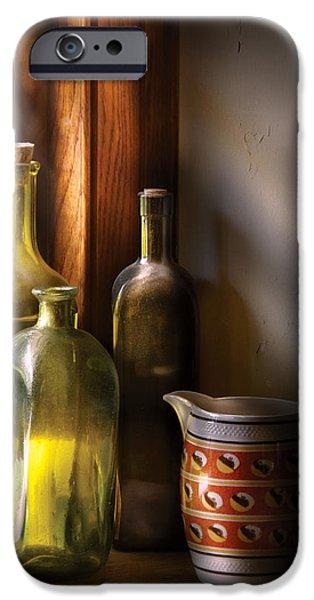 Wine - Three bottles iPhone Case by Mike Savad