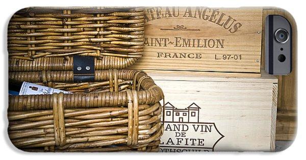 Cellar iPhone Cases - Wine Cellar iPhone Case by Frank Tschakert