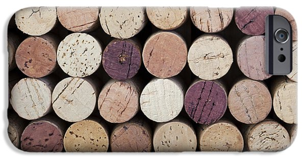 Stopper iPhone Cases - Wine corks  iPhone Case by Jane Rix
