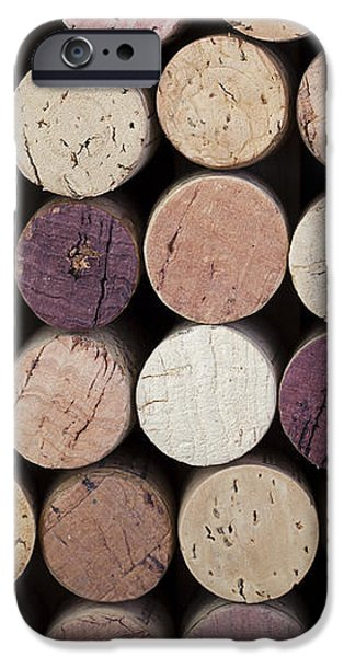 Wine corks  iPhone Case by Jane Rix