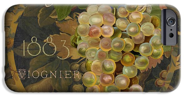 Chardonnay iPhone Cases - Wines of France Chardonnay iPhone Case by Mindy Sommers