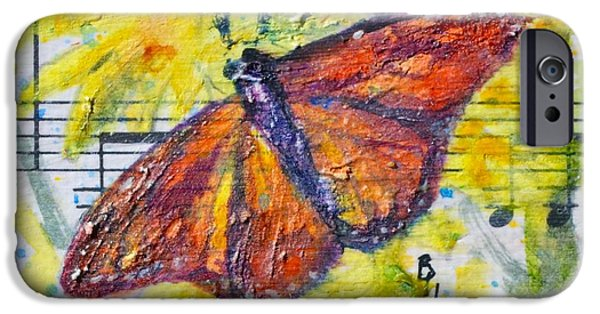 Sheets iPhone Cases - Wings I iPhone Case by Beverley Harper Tinsley