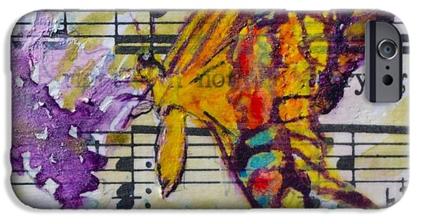 Sheets iPhone Cases - Wings II iPhone Case by Beverley Harper Tinsley